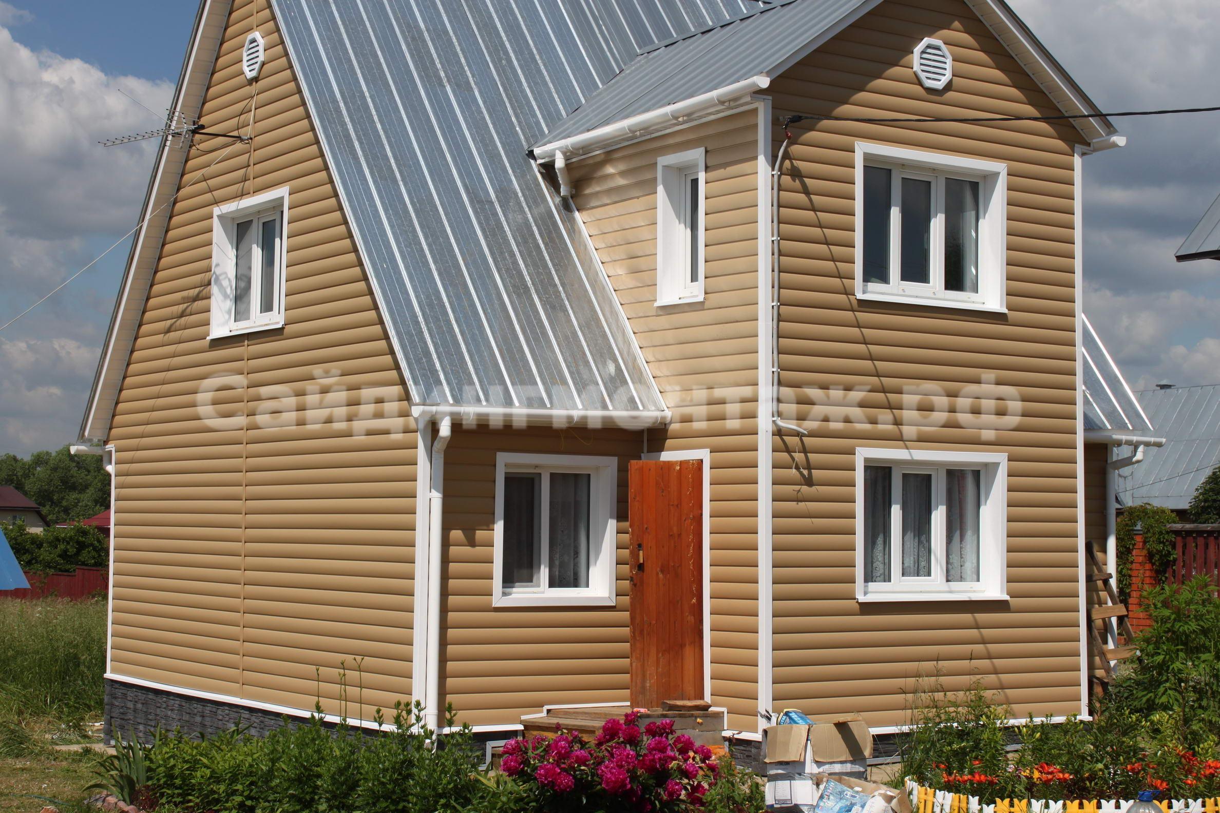 Палитра сайдинга цветовая: фото - оттенки обшивки для дома 19