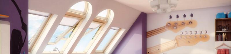 Мансардные окна дует